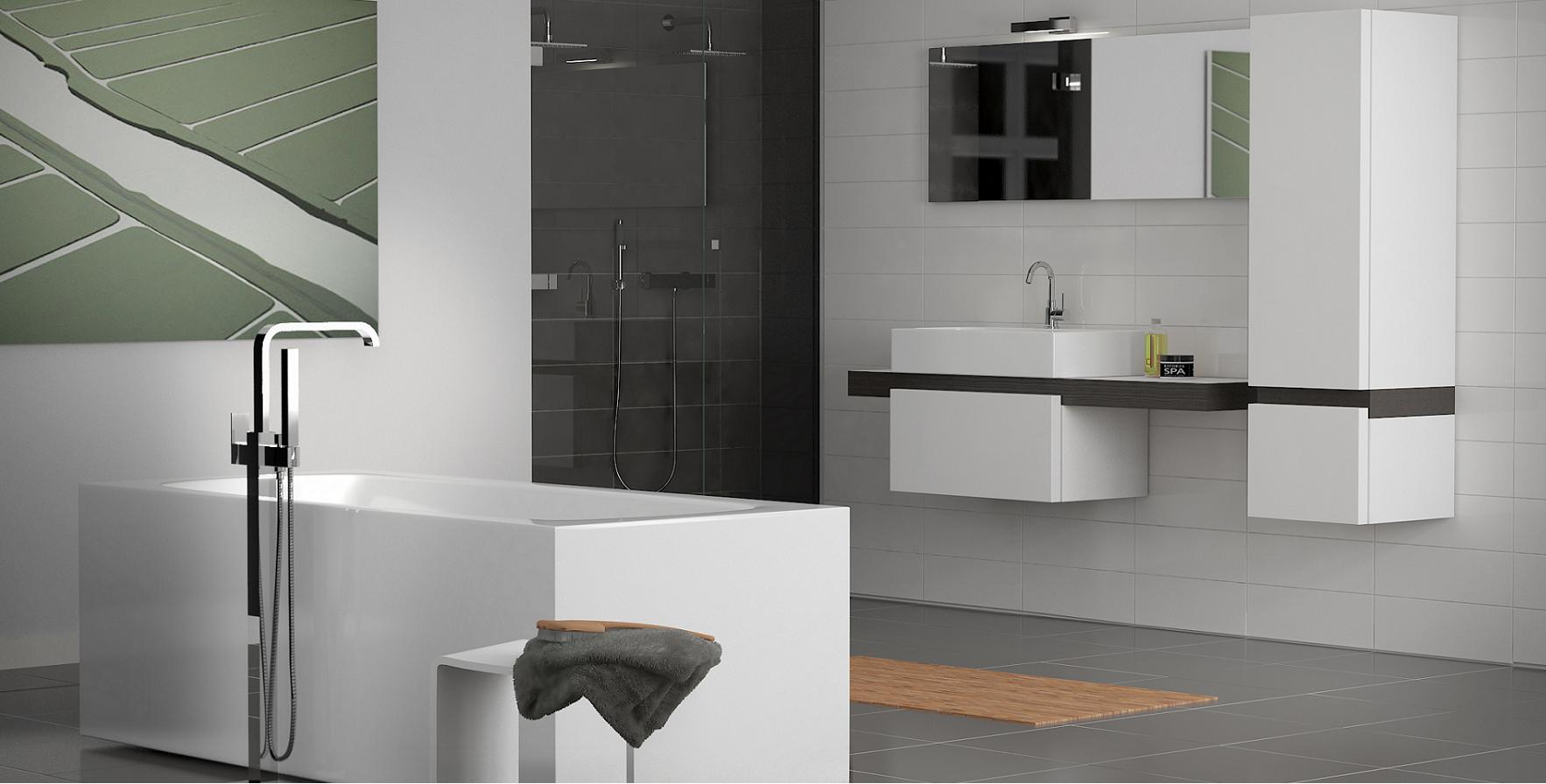 Aanbevolen badkamer design inspirerende idee n ontwerp met foto 39 s en voorbeelden - Gemeubleerde salle de bains ontwerp ...